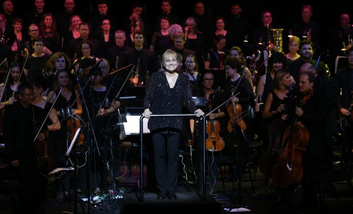 Conductor Miriam Burns