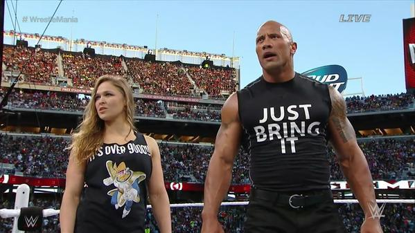 ronda-rousey-wrestlemania-shirt