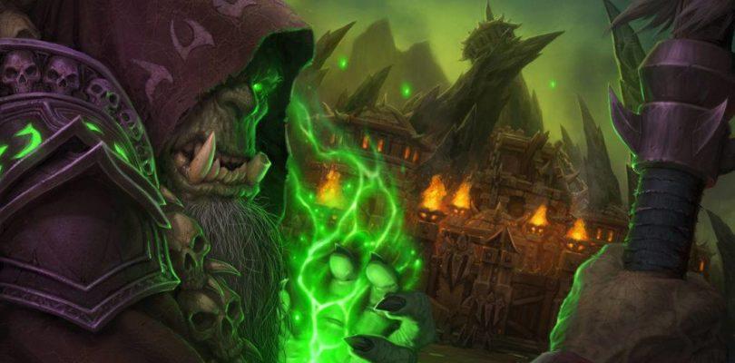 The warlock Gul'dan