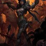 Female Demon Hunter from DIablo