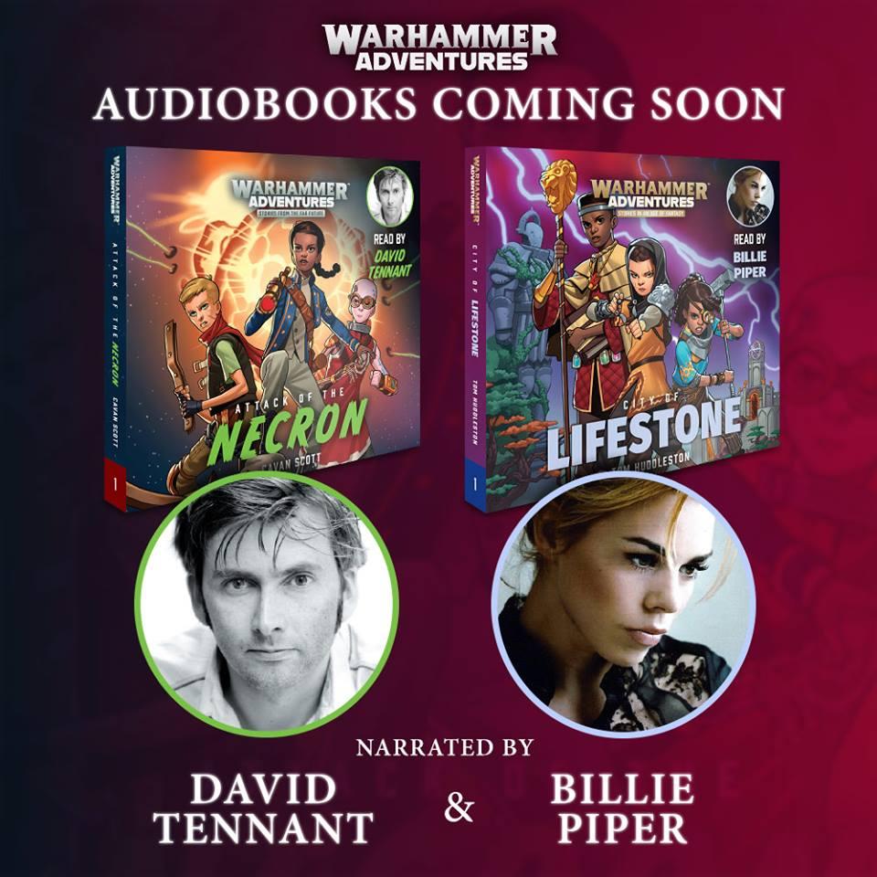 Warhammer Adventures Audiobooks