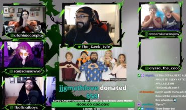 The Geek Lyfe Raise Over $1000 for Charity via a D&D Live Event!