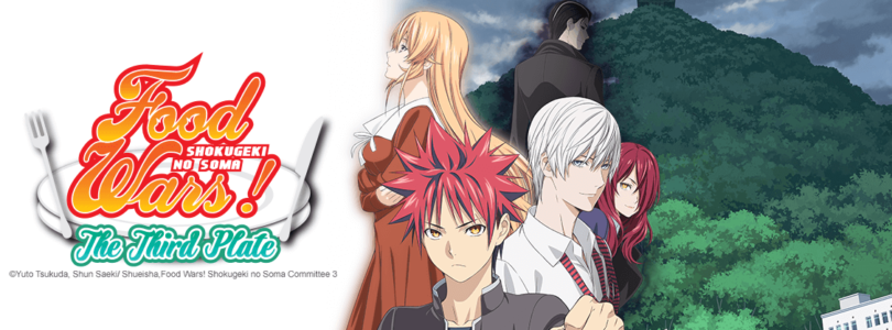 """Crunchyroll Brings """"Food Wars! The Third Plate"""" to Toonami This Month"""