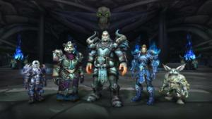 WoW Visions of NZoth Allied Race DKs