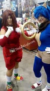 Sonic and Knuckles Cosplay